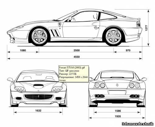 Для 3d моделирования автомобилей
